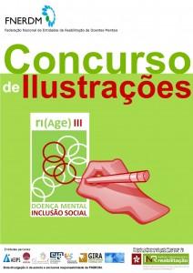 Cartaz Vertical Concurso de Ilustrações 4