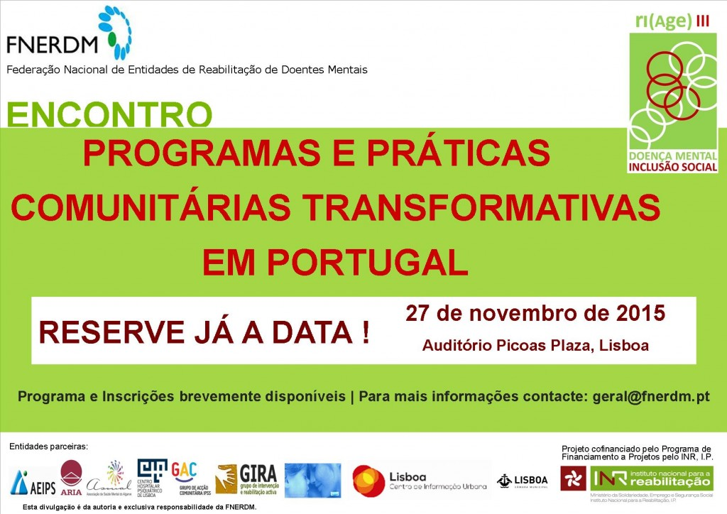 Cartaz Encontro 2015 - Reserve a data